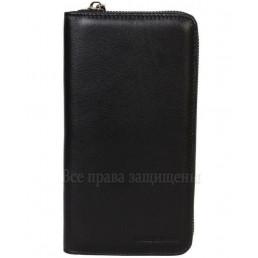 Мужской бумажник - клатч из натуральной кожи