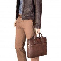 Мужские кожаные портфели - не только модный, но и практичный аксессуаркие