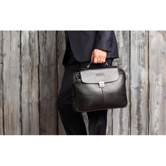 Как подобрать мужской портфель и аксессуары к нему