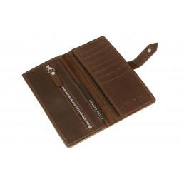 Портмоне, шоколад Grande Pelle (GP)