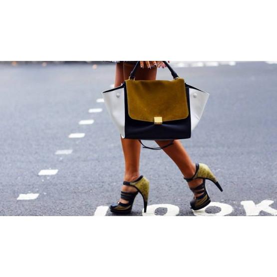 Должна ли женская сумка сочетаться с обувью