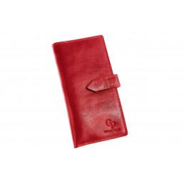 Портмоне, красный Grande Pelle (GP)
