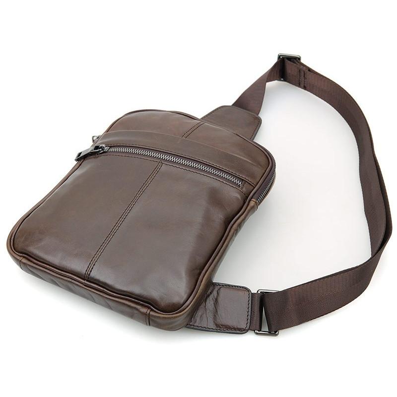 Рюкзак Vintage 14395 кожаный Коричневый