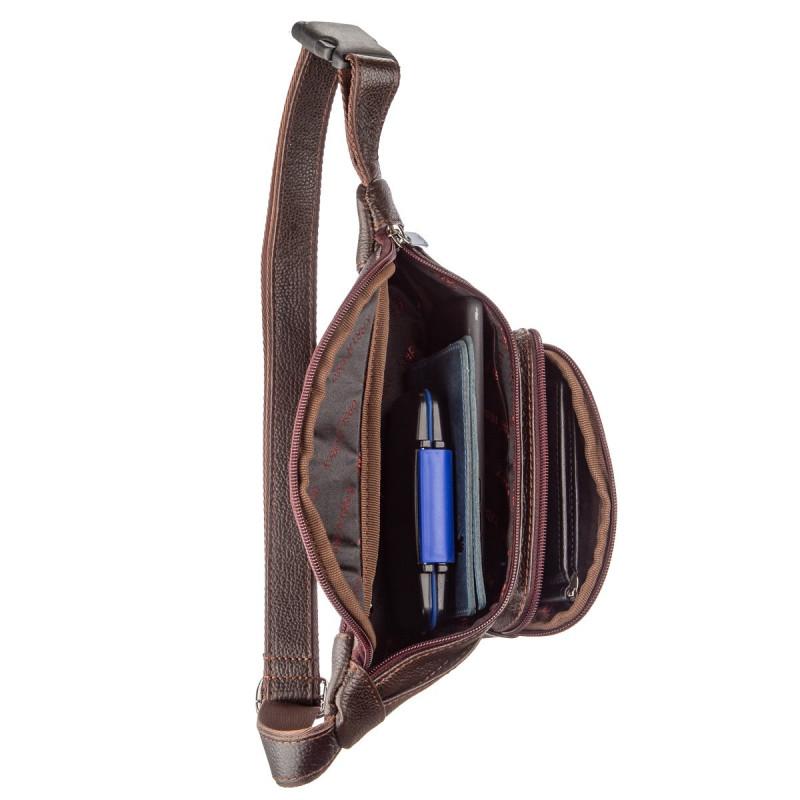 Поясная сумка флотар KARYA 17297 Коричневая