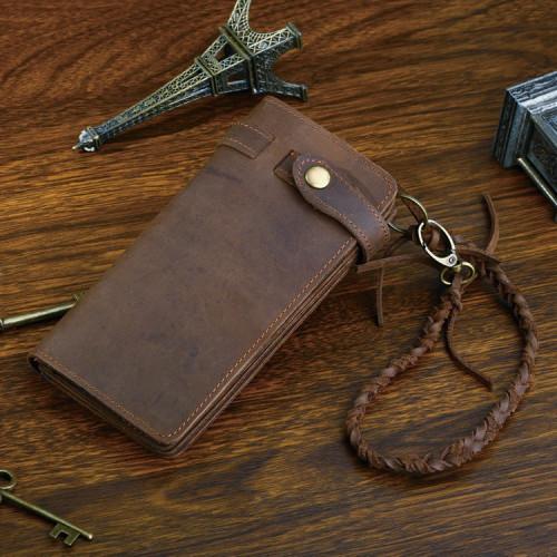 Мужской клатч Vintage 14383 из винтажной кожи Коричневый
