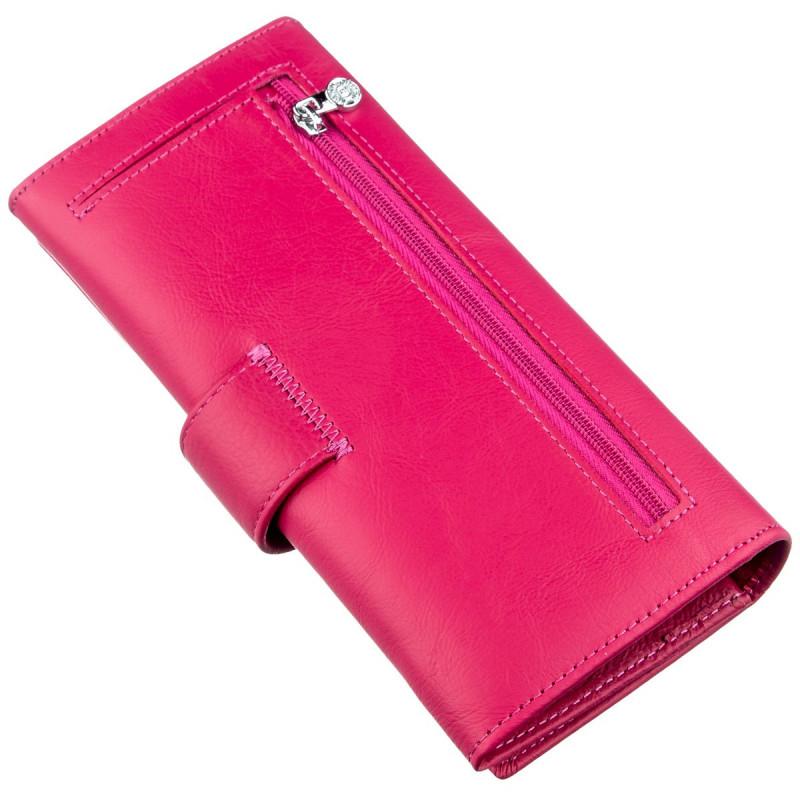 Яркий и практичный женский кошелек Boston 18847 Розовый