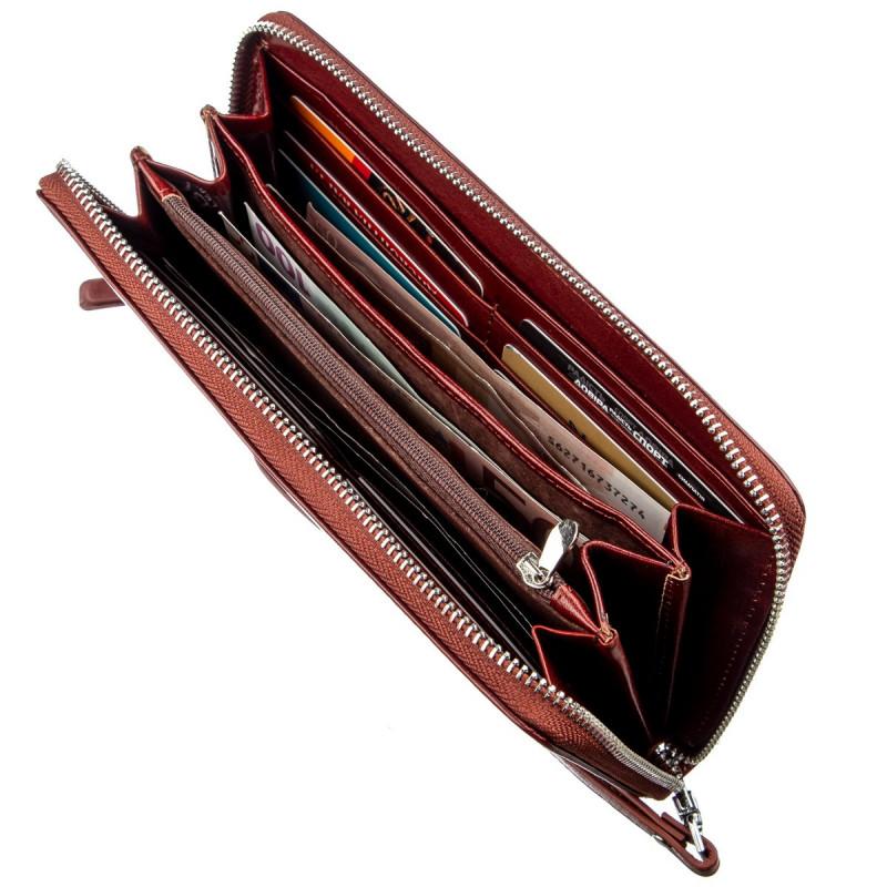 Оригинальное мужское портмоне-клатч Boston 18805 Коричневый