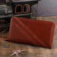 Мужской клатч Vintage 14197 кожаный Коричневый
