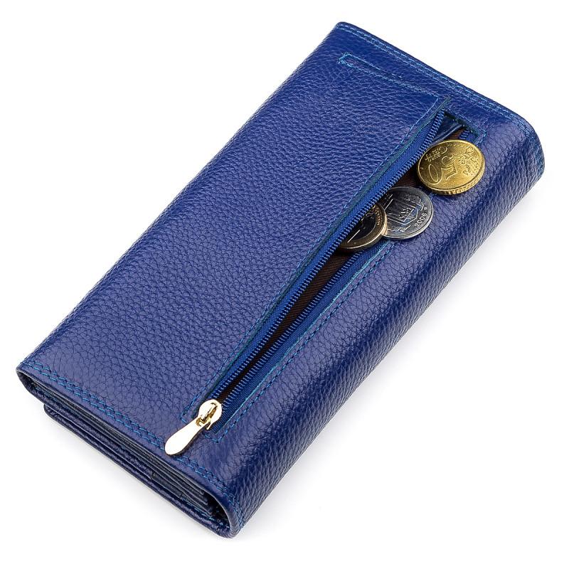Кошелек женский Boston 18481 (S2001B) стильный Синий