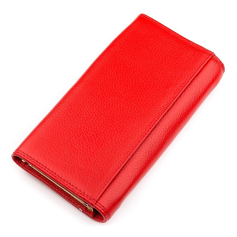 Кошелек женский Boston 18483 (S6001B) стильный Красный