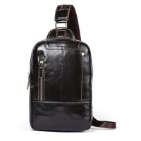 Сумка-рюкзак кожаная Vintage 14785 Коричневая