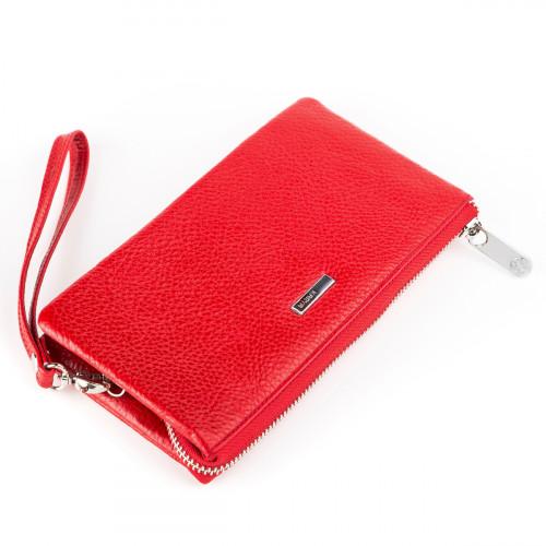 Кошелек женский KARYA 17007 кожаный Красный