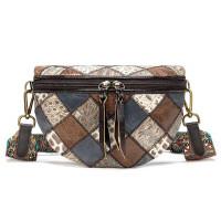 Женская поясная кожаная сумка 20342 Vintage Разноцветная