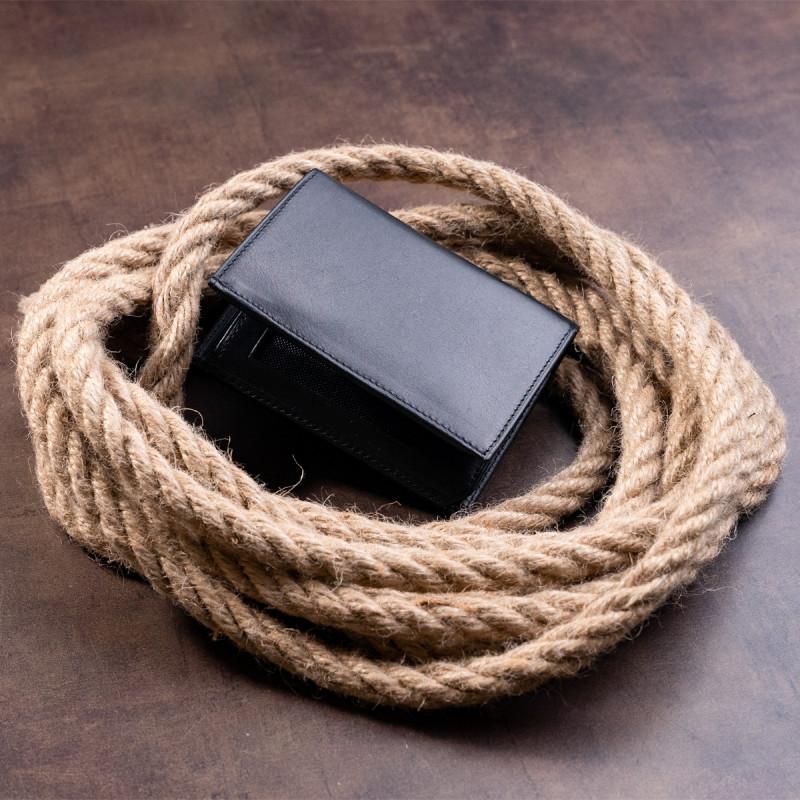 Портмоне вертикальное KARYA 17392 кожа Черное