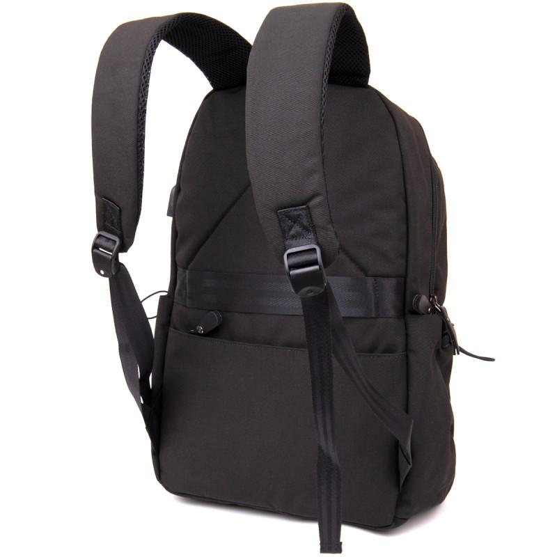 Рюкзак smart унисекс Vintage 20622 Черный