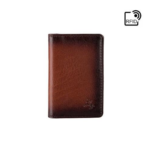 Картхолдер Visconti AT55 Jason c RFID (Burnish Tan)