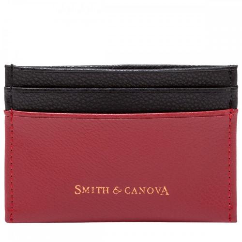 Картхолдер Smith & Canova 26827 Devere (Red-Black)