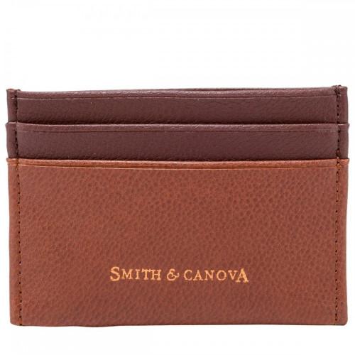 Картхолдер Smith & Canova 26827 Devere (Tan-Brown)