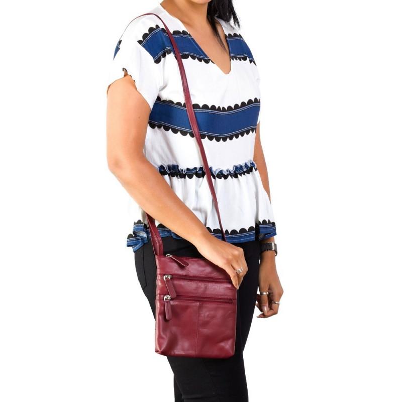 Сумка Visconti 18606 Slim Bag (Red)