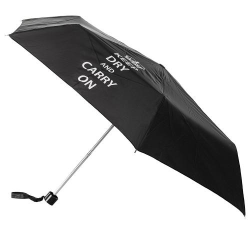 Зонт женский Incognito-4 L412 Keep Dry Black (Оставаться сухим)