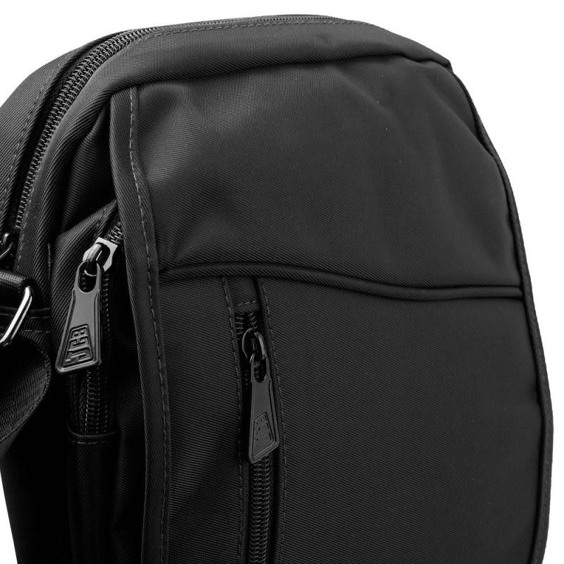 Сумка текстильная мужская JCB B33 Black (Черный)