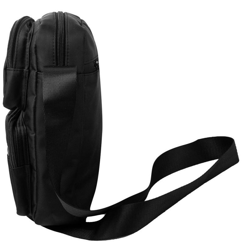 Сумка текстильная мужская Borderline 32 Black (Черный)