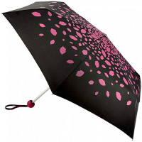 Зонт женский Lulu Guinness by Fulton Minilite-2 L869 Raining Lips Pink