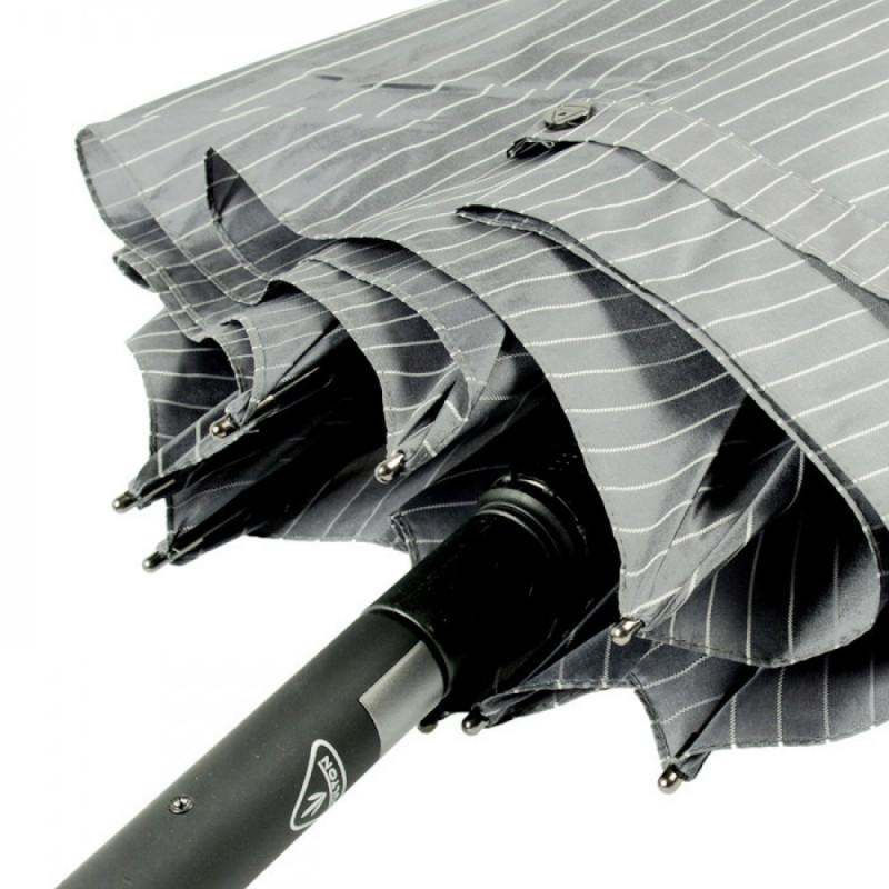 Зонт-трость мужской Fulton Knightsbridge-2 G451 Grey (Серый)