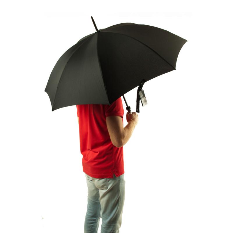 Зонт-трость мужской Fulton Huntsman-1 G813 Black (Черный)