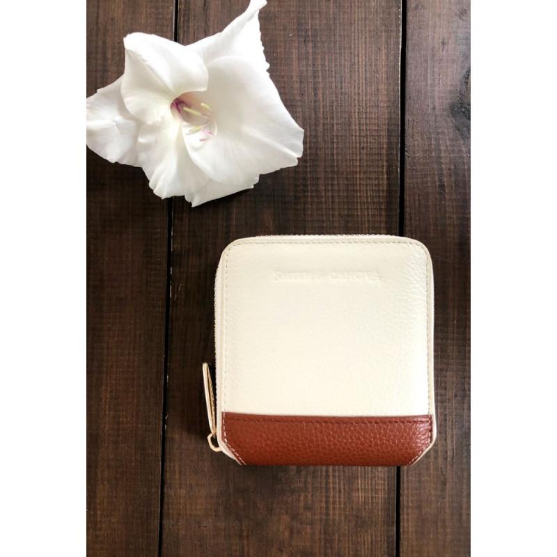 Кошелек женский Smith & Canova 26803 Althorp (Cream-Tan)