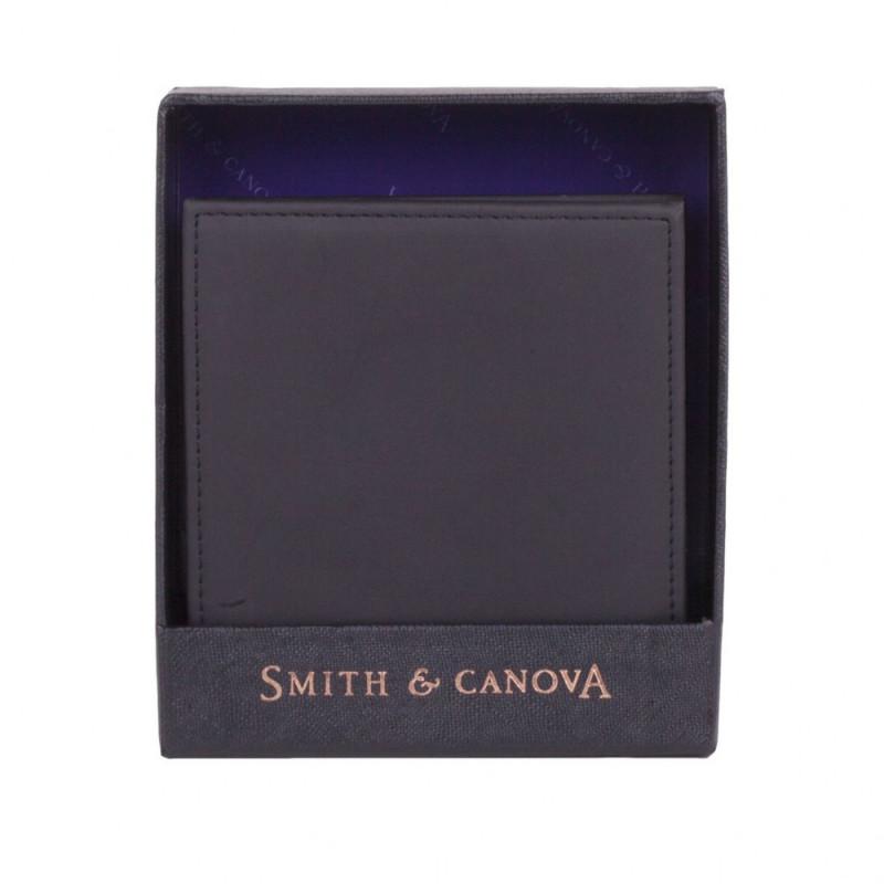Кошелек мужской Smith & Canova 92410 Romano (Black)