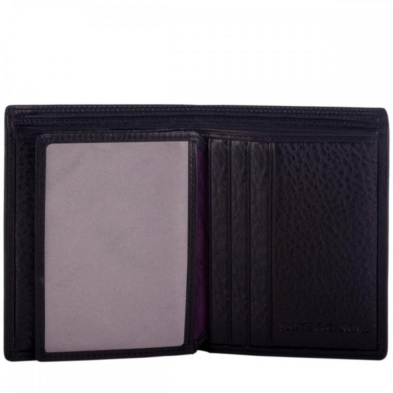 Кошелек мужской Smith & Canova 28600 Downing (Black)