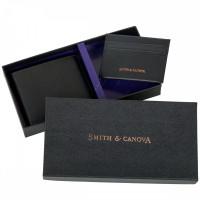 Кошелёк и картхолдер набор Smith & Canova 28652 (Black)