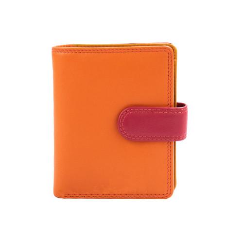 Кошелек женский Visconti RB40 Bali c RFID (Orange Multi)