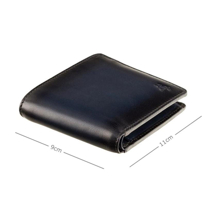 Кошелек мужской Visconti AT60 Arthur c RFID (Burnish Blue)