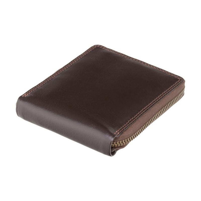 Кошелек мужской Visconti HT14 Camden c RFID (Chocolate)