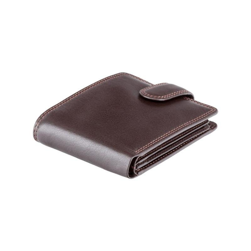 Кошелек мужской Visconti HT13 Strand c RFID (Chocolate)