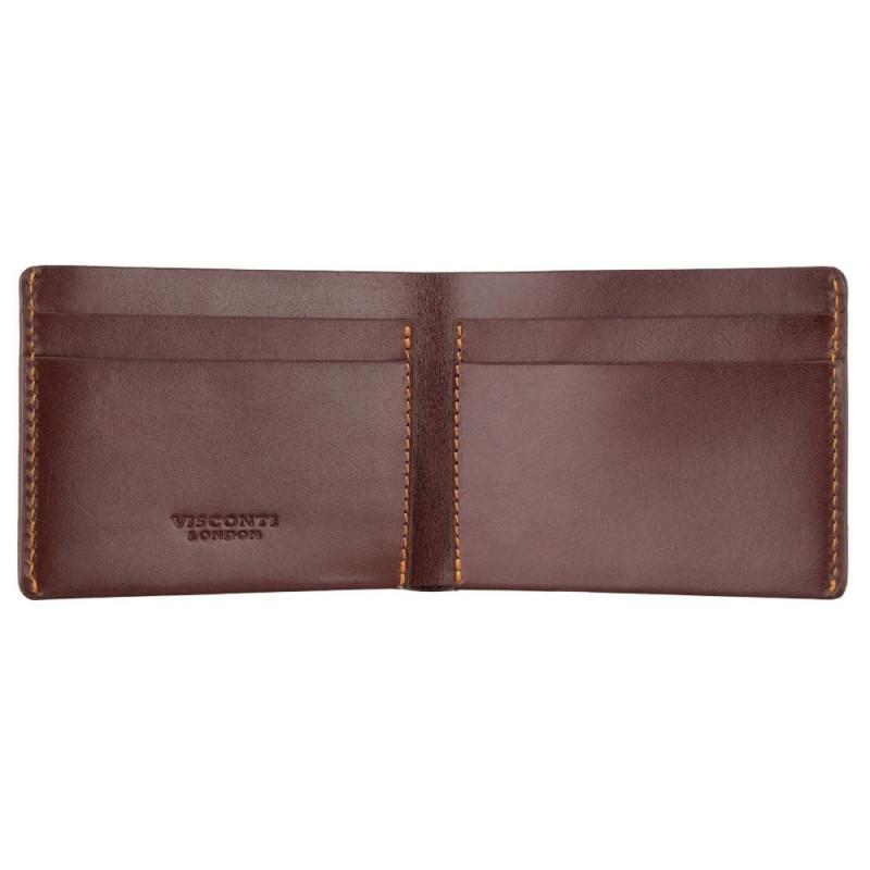 Портмоне мужское Visconti RW49 Dollar (Brown)