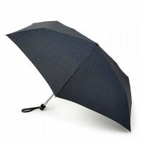 Зонт женский Fulton Miniflat-2 L340 Houndstooth (Гусиная лапка)