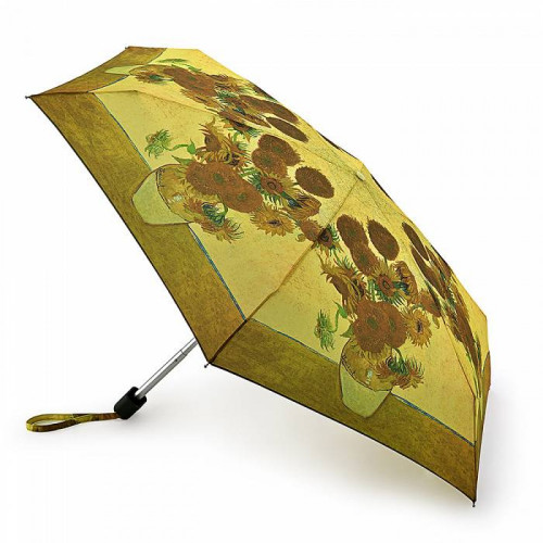 Зонт женский Fulton National Gallery Tiny-2 L794 Sunflowers (Подсолнухи)