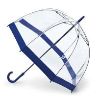 Зонт-трость женский Fulton Birdcage-1 L041 Navy (Синий)