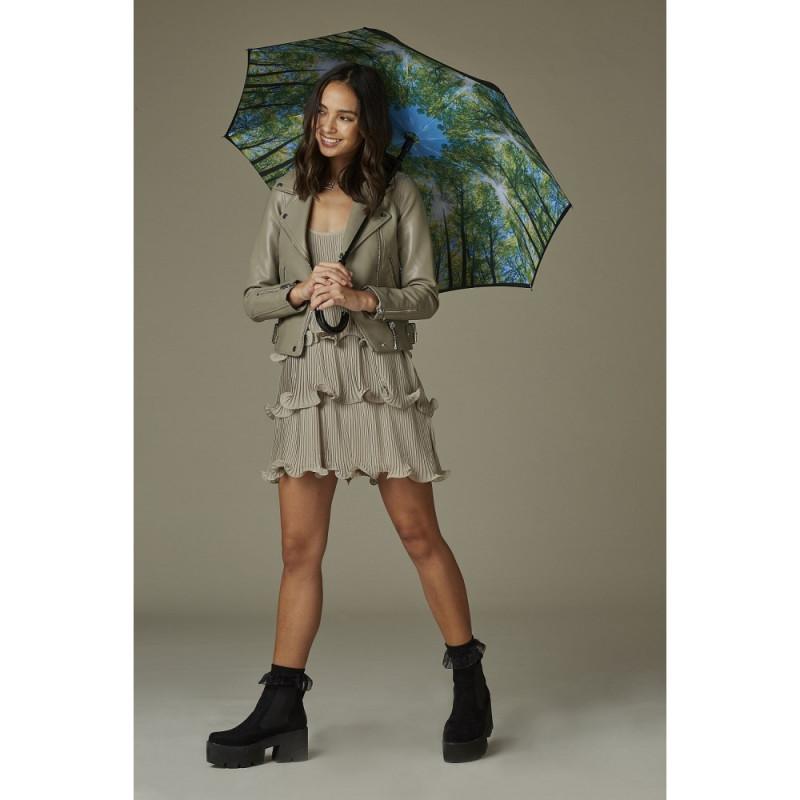 Зонт-трость женский Fulton Bloomsbury-2 L754 Sunburst (Солнечные Лучи)