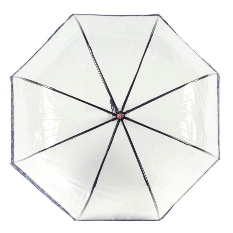 Зонт-трость женский Fulton Birdcage-2 Luxe L866 Luminous Floral (Светящиеся цветы)