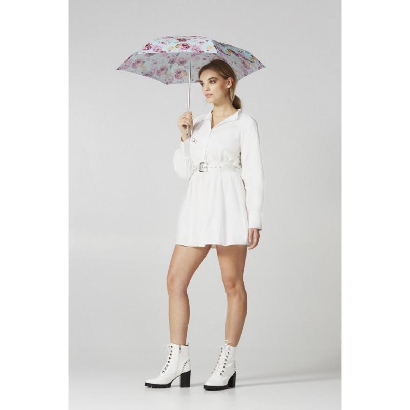 Мини зонт женский Fulton L501-037652 Tiny-2 Paper Roses (Бумажные розы)