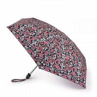 Мини зонт женский Fulton L501 Tiny-2 Floral Cluster (Цветочный кластер)