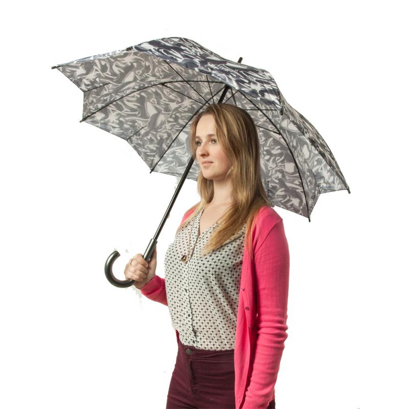 Зонт-трость женский Fulton Kensington-2 L056 Satin Dream (Мечты)